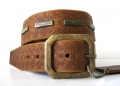 DOA 232B Handcrafted Leather Belt from David Olive Accessories