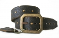 DOA 233B Handcrafted Leather Belt from David Olive Accessories