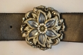 Handcrafted Leather belt from Beth Frank-(LE-1018-bl)