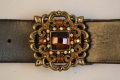 Handcrafted Leather belt from Beth Frank-(LE-1059)