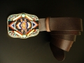 Handcrafted belt by Waitz Design (dd5076)