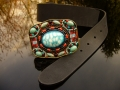 Handcrafted belt by Waitz Design (dd5036)