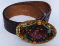 Handcrafted belt by Waitz Design (dd5057)