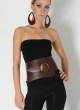 N'Damus Dark Brown Corset Belt