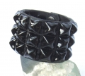 Old Stud Handmade Studded Leather Wrist Cuff  (OS-cg)