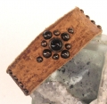 Old Stud Handmade Studded Leather Wrist Cuff  (OS-cn)