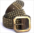 Old Stud Handmade Studded Leather Belt (OS-m5)