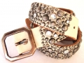 Old Stud Handmade Studded Leather Belt (OS-glam2)