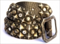 Old Stud Handmade Studded Leather Belt (OS-gw)