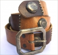 Old Stud Handmade Studded Leather Belt (OS-h3)