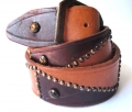 Old Stud Handmade Studded Leather Belt (OS-h4)