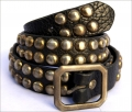 Old Stud Handmade Studded Leather Belt (OS-m2)