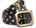 Old Stud Handmade Studded Leather Belt (OS-m4)