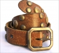 Old Stud Handmade Studded Leather Belt (OS-m6)