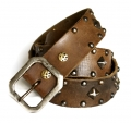 Old Stud Handmade Studded Leather Belt (OS-m7)