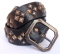Old Stud Handmade Studded Leather Belt (OS-m9)