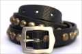 Old Stud Handmade Studded Leather Belt (OS-n2)