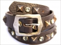 Old Stud Handmade Studded Leather Belt (OS-ng1)