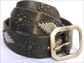 Old Stud Handmade Studded Leather Belt (OS-p1)