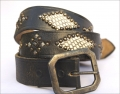 Old Stud Handmade Studded Leather Belt (OS-p3)