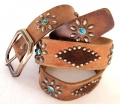 Old Stud Handmade Studded Leather Belt (OS-p4)