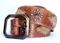 Old Stud Handmade Studded Leather Belt (OS-p5)
