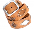 Old Stud Handmade Studded Leather Belt (OS-p9)