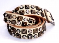 Old Stud Handmade Studded Leather Belt (OS-sg)