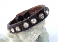 Old Stud Handmade Studded Leather Wrist Cuff  (sc20))