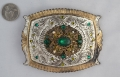 One of a kind buckle & belt from Beth Frank-(1126)
