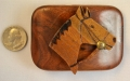 One of a kind buckle & belt from Beth Frank-(0699)
