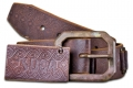 DOA 235B Handcrafted Leather Belt from David Olive Accessories