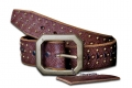 DOA 239B Handcrafted Leather Belt from David Olive Accessories