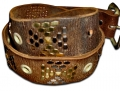 DOA 253B Handcrafted Leather Belt from David Olive Accessories