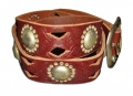 DOA 256B Handcrafted Leather Belt from David Olive Accessories