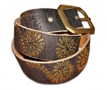 DOA 257B Handcrafted Leather Belt from David Olive Accessories