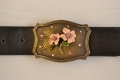 Handcrafted Leather belt from Beth Frank-(LE-1036)
