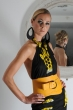 N'Damus Yellow Corset Belt