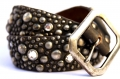 Old Stud Handmade Studded Leather Belt (OS-glam1)