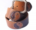 Old Stud Handmade Studded Leather Belt (OS-h5)